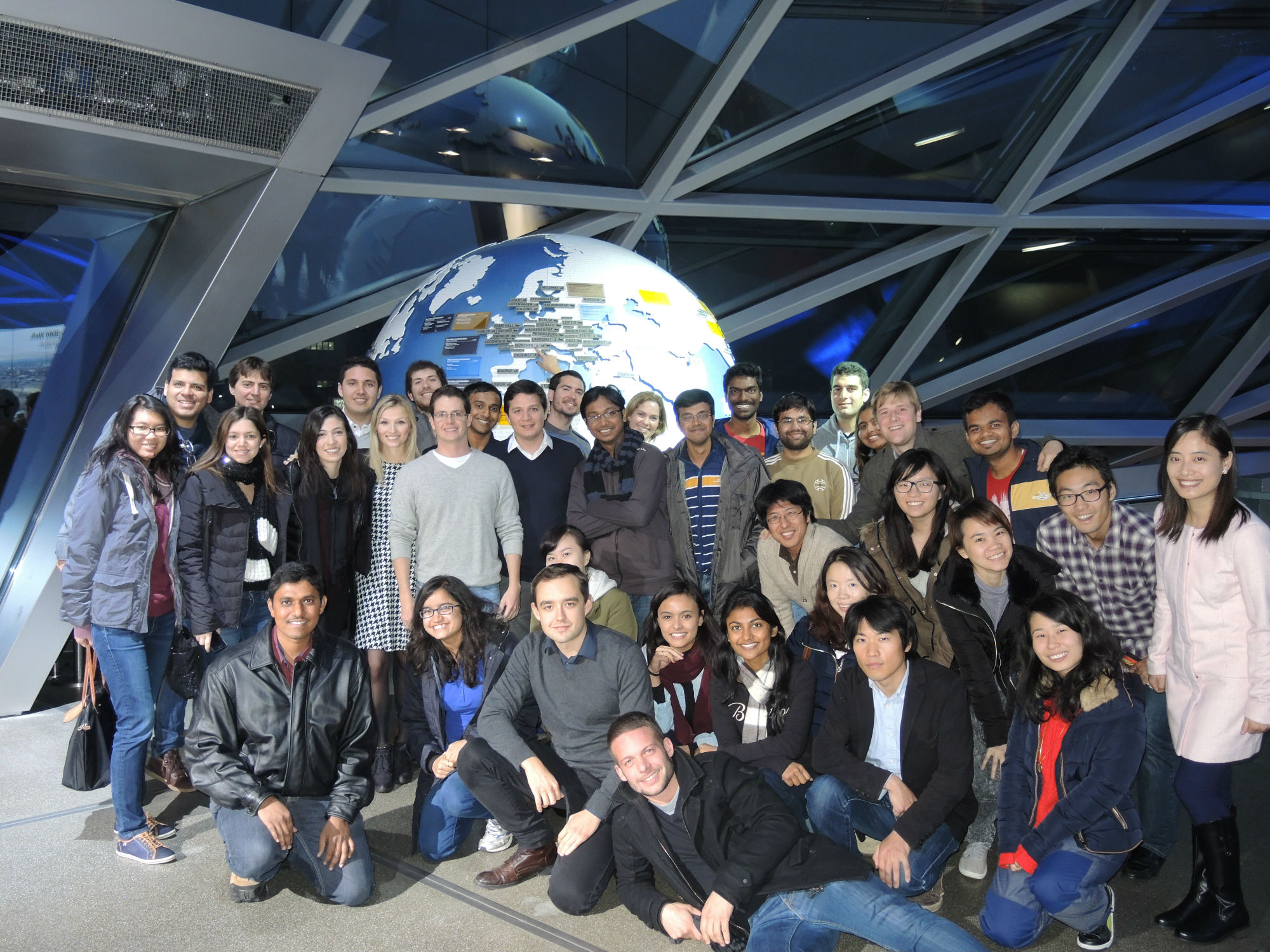 Students at CERN